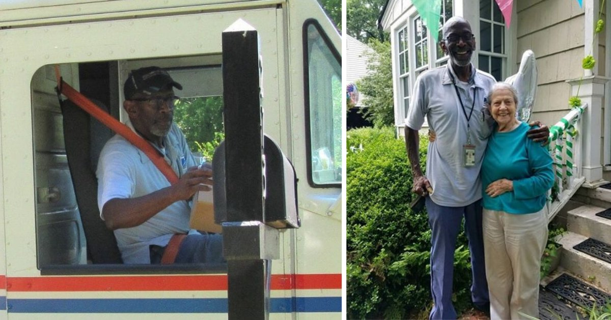 d4 20.png?resize=1200,630 - The Mailman Who Retires After 35 Years of his Service is Sent Off to Visit Hawaii by the Community With $32k