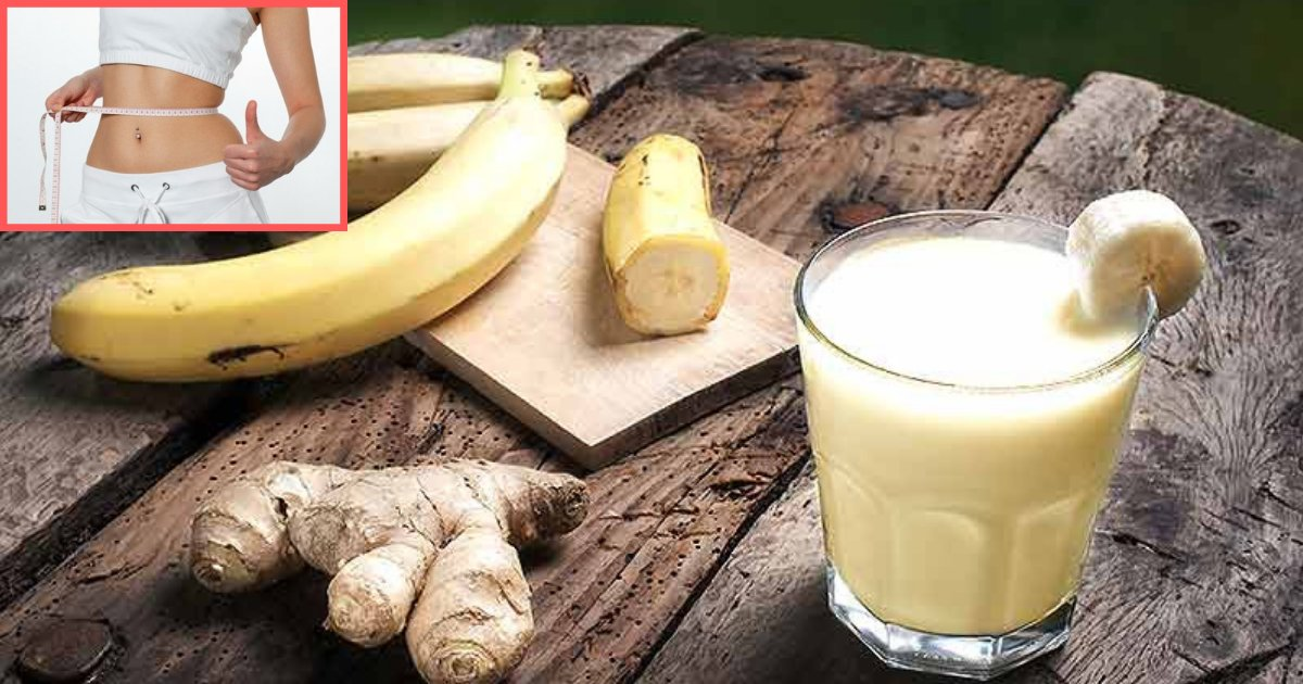 d4 6.png?resize=1200,630 - Burn Your Stomach Fat Quickly With Banana Ginger Smoothie