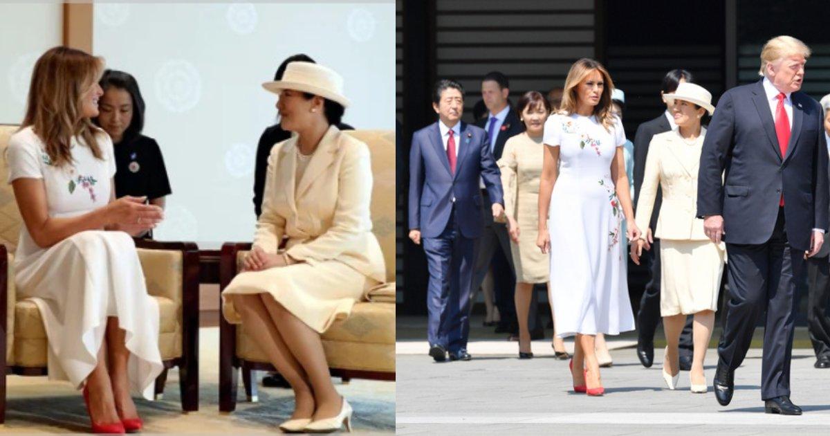 "e696b0e5bbbae9a1b9e79bae 49.png?resize=1200,630 - トランプ来日、新天皇と雅子さまが受け継ぐ""皇室外交""に注目!「こういう雅子さまの笑顔はいつ以来かな。」"