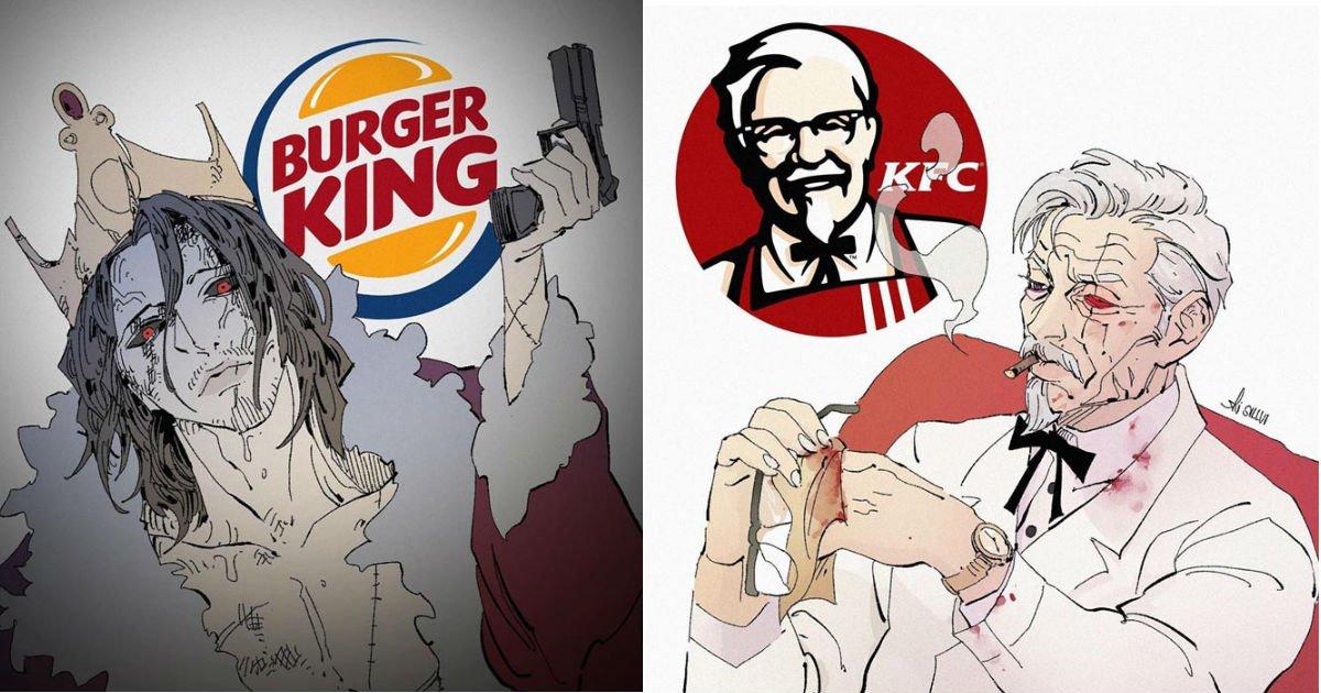 ec8898eca095.jpg?resize=412,275 - 세계적으로 유명한 브랜드들을 캐릭터화 한다면.jpg (10장)