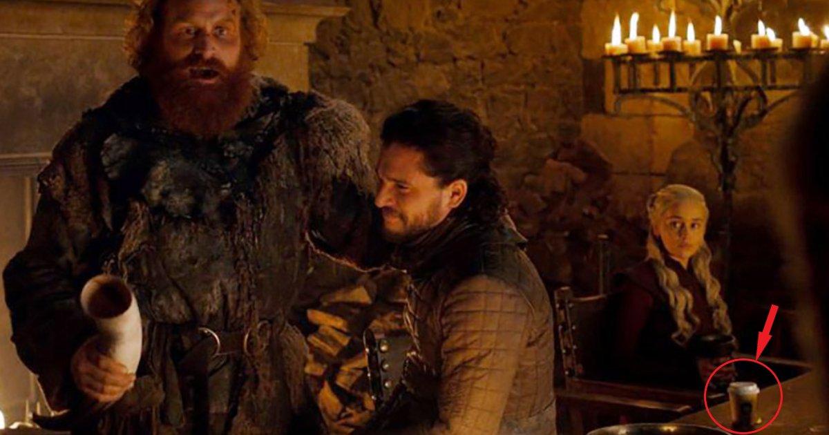featured image 19.png?resize=300,169 - La réponse parfaite de HBO face au gobelet Starbucks oubliée dans l'épisode de Game of Thrones