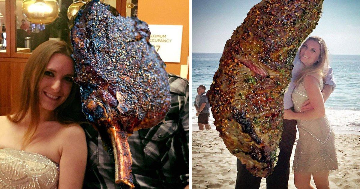 featured image 38.png?resize=412,232 - Une femme a remplacé les images de son ex-petit ami par un steak au lieu de les supprimer