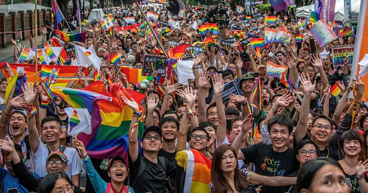 featured image 50.png?resize=1200,630 - Taiwan's Parliament Passed Asia's First Same-Sex Marriage Bill