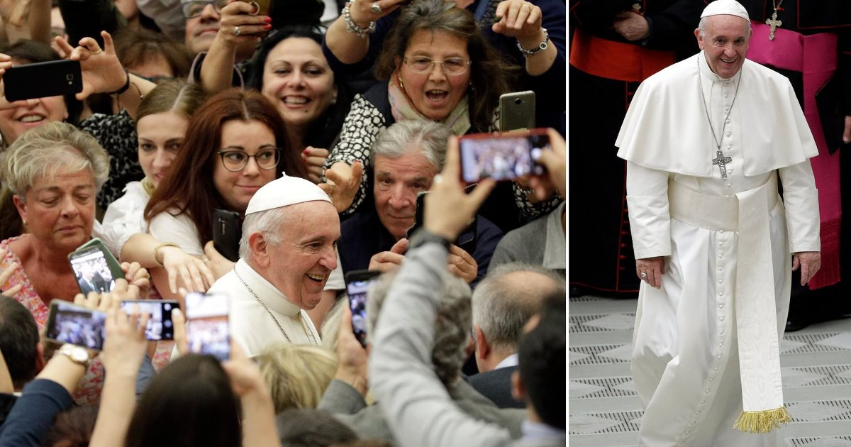 featured image 70.png?resize=1200,630 - Pope Francis Compared Abortion To 'Hiring A Hitman'