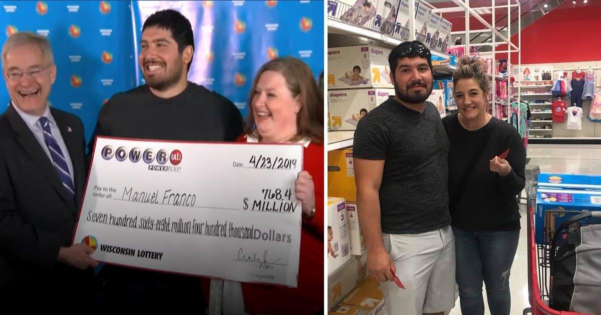 ffdfdf.jpg?resize=300,169 - Un gagnant du loto à 700 millions d'euros a remis une carte-cadeau de 150€ à une mère