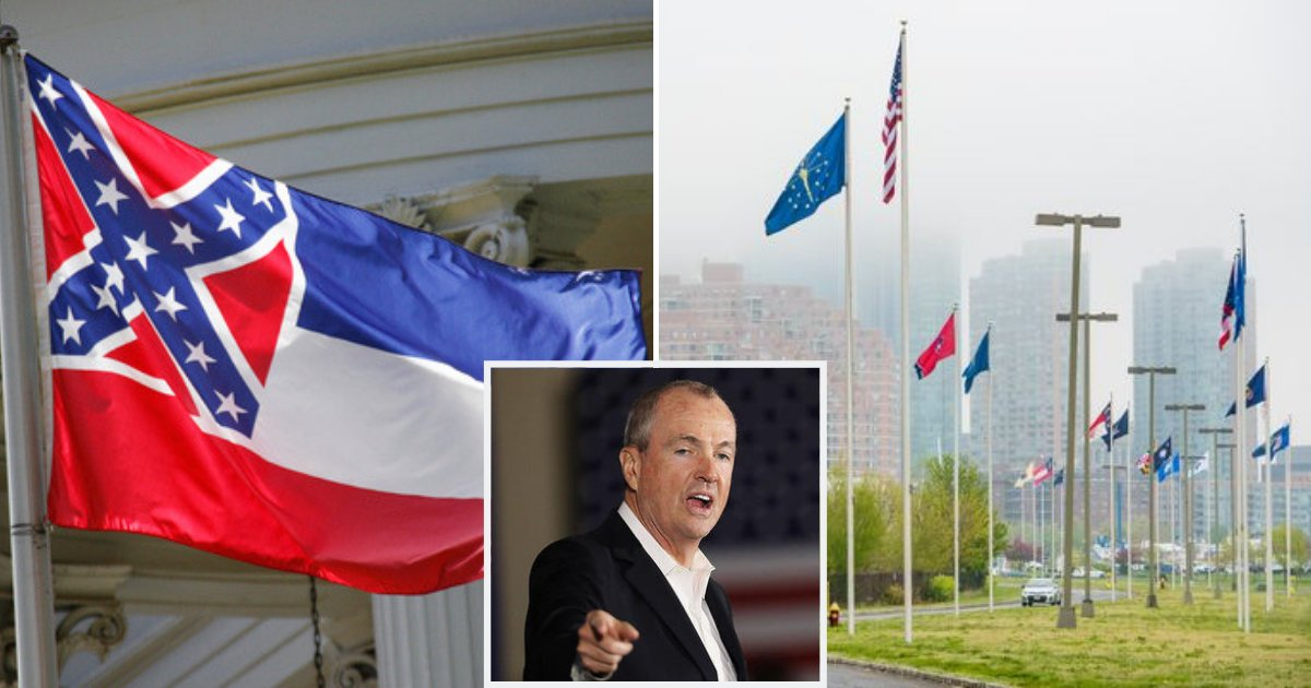flags2.png?resize=1200,630 - The Reason Why Mississippi's Flag Has Been Removed From A New Jersey Park