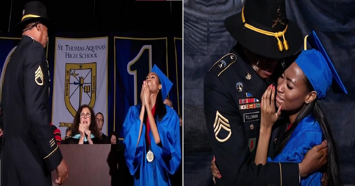 g4.jpg?resize=1200,630 - Teen Got The Best Graduation Gift When Her Army Dad Returned From Overseas In Time For Her Graduation