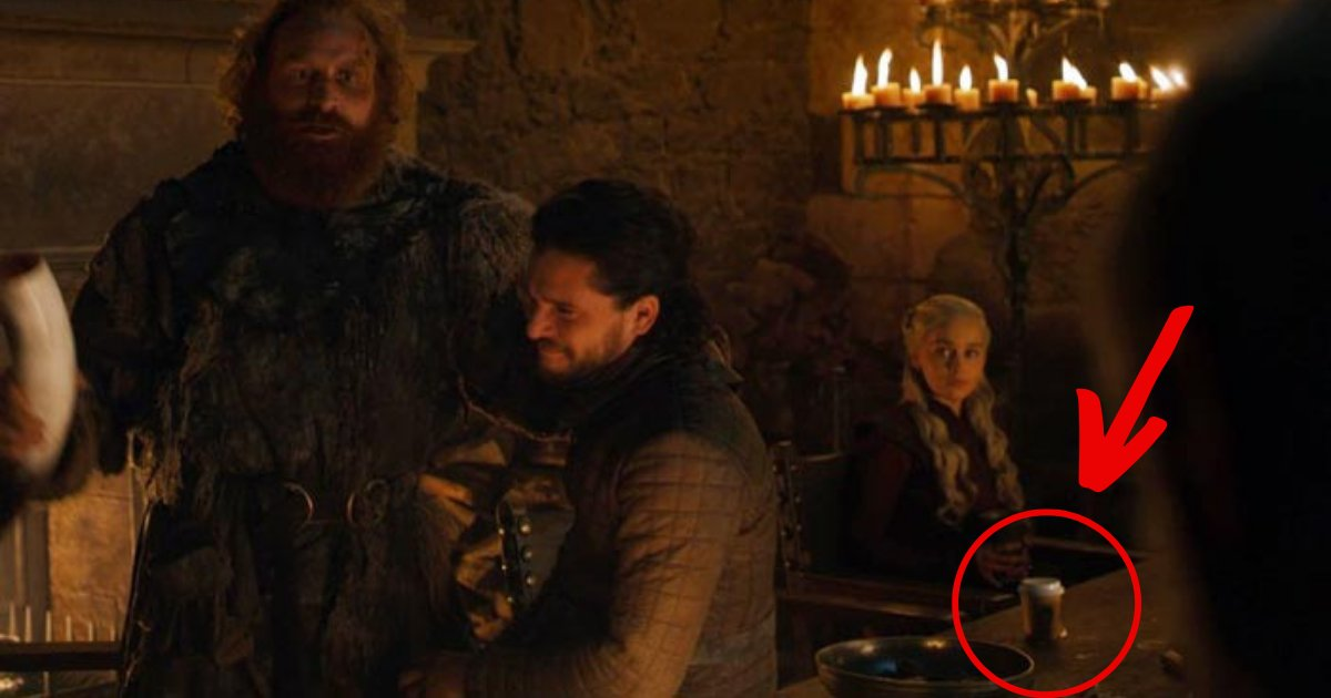 got.png?resize=412,232 - Internet On Fire After Game Of Thrones Fans Spotted A COFFEE Cup In The Great Hall Of Winterfell