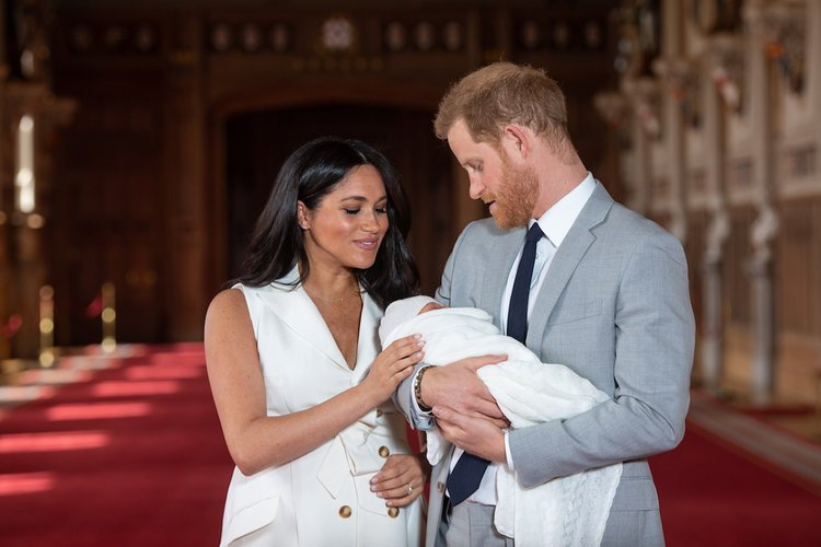 Image result for Meghan Markle and Prince Harry name royal baby boy 750
