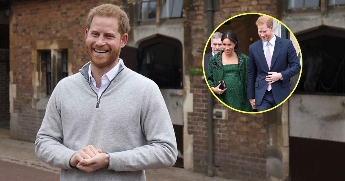 harry meghan child.jpg?resize=1200,630 - Le prince Harry et Meghan Markle ont accueilli leur premier enfant - Le prince Harry dit que «cette petite chose est absolument à mourir de joie»