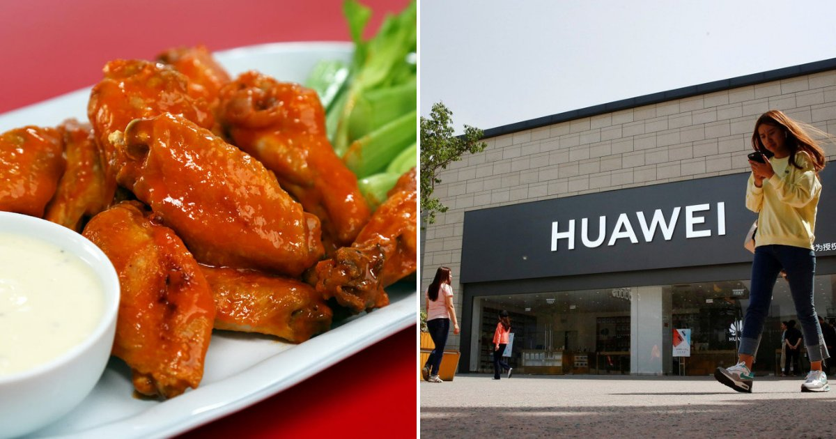 huawei4.png?resize=1200,630 - Restaurant Offers FREE Chicken Wings For Huawei Users After The US Banned The Tech Giant