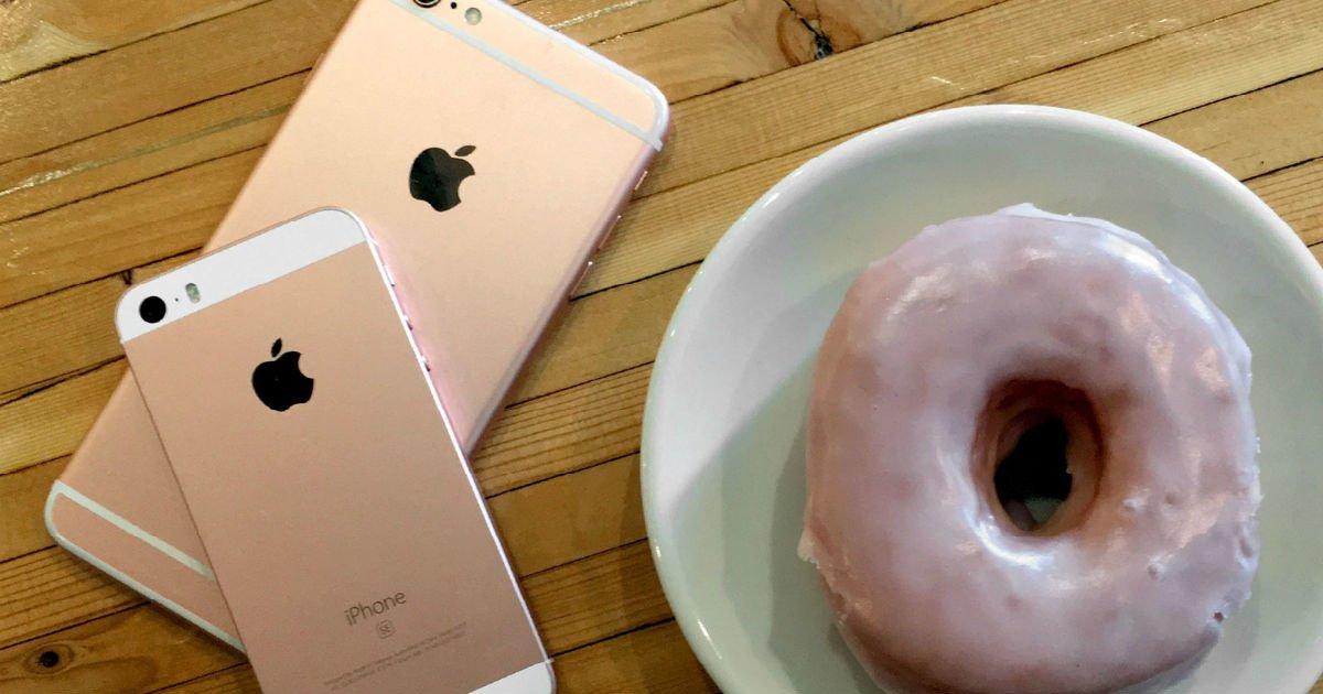 "iphone se iphone 6 plus donut rose gold hero.jpg?resize=300,169 - ""'아이폰SE', '아이폰 6' 이하 기종은 더이상 'iOS' 지원 못 받는다"""