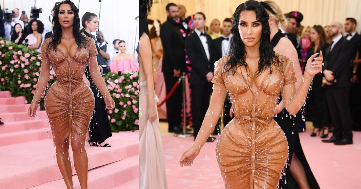kim kardashians tiny waist at the met gala sparked controversy.jpg?resize=300,169 - La minuscule taille de Kim Kardashian au Met Gala a suscité la controverse