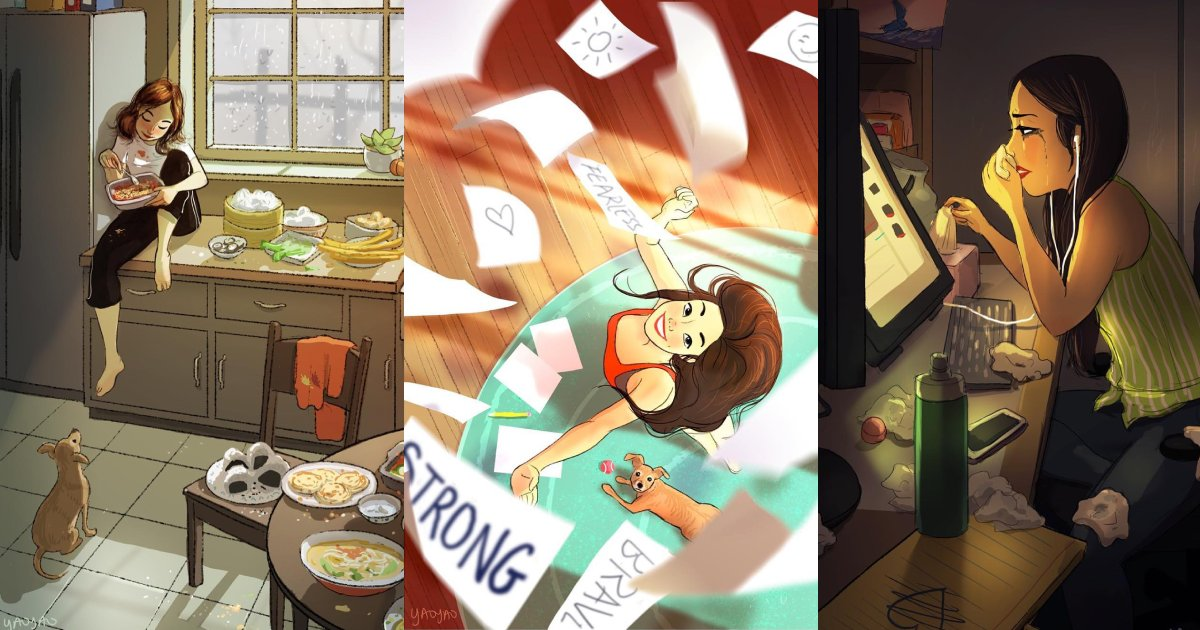 living alone.png?resize=1200,630 - 12+ Pictures Showing Why Living Alone Is The Best