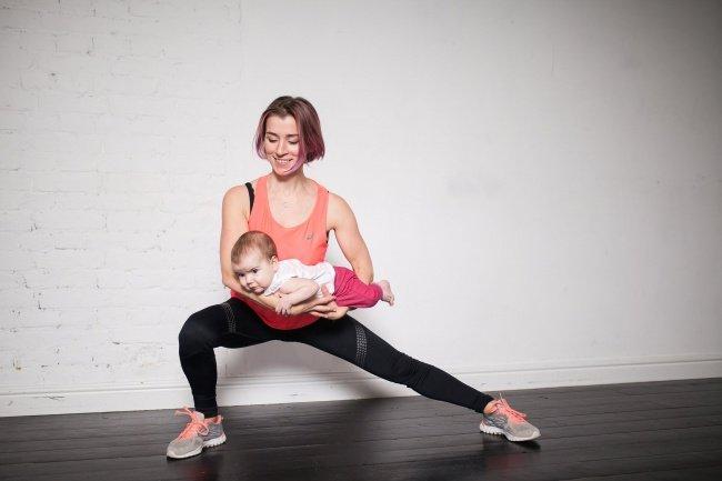 Una madre detres pequeños nos muestra cómo volver aestar enforma