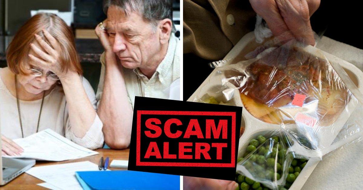 meal6.png?resize=412,232 - Un couple de personnes âgées a été arnaqué par une fausse organisation de «livraisons de repas à domicile». Un étranger les rembourse chaque centime.