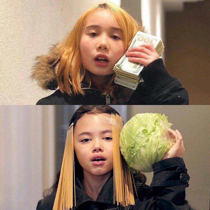 Una niña recrea atuendos de celebridades de una forma tan divertida que opaca las versiones originales