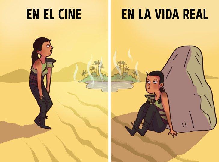 10 Mitos del cine sobre la supervivencia que podrían matarte en la vida real