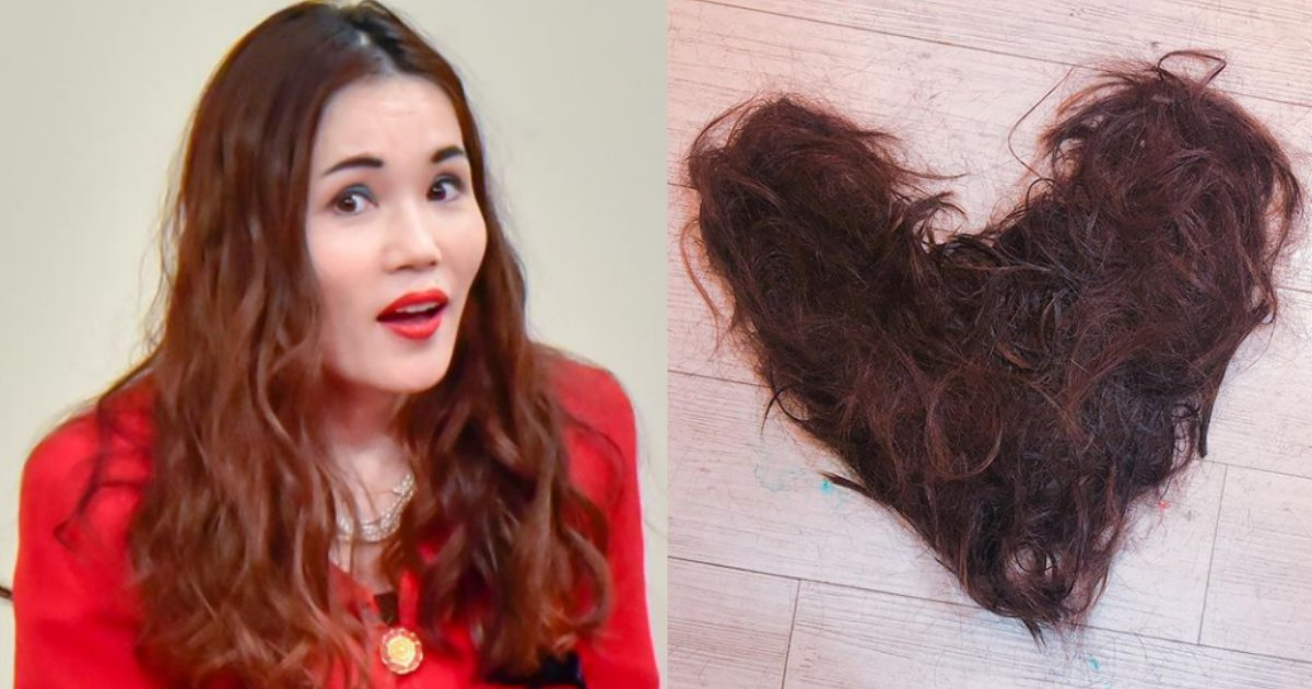 nora.png?resize=1200,630 - 平野ノラが髪をバッサリ!ハート型の自身の切った髪が話題に♡