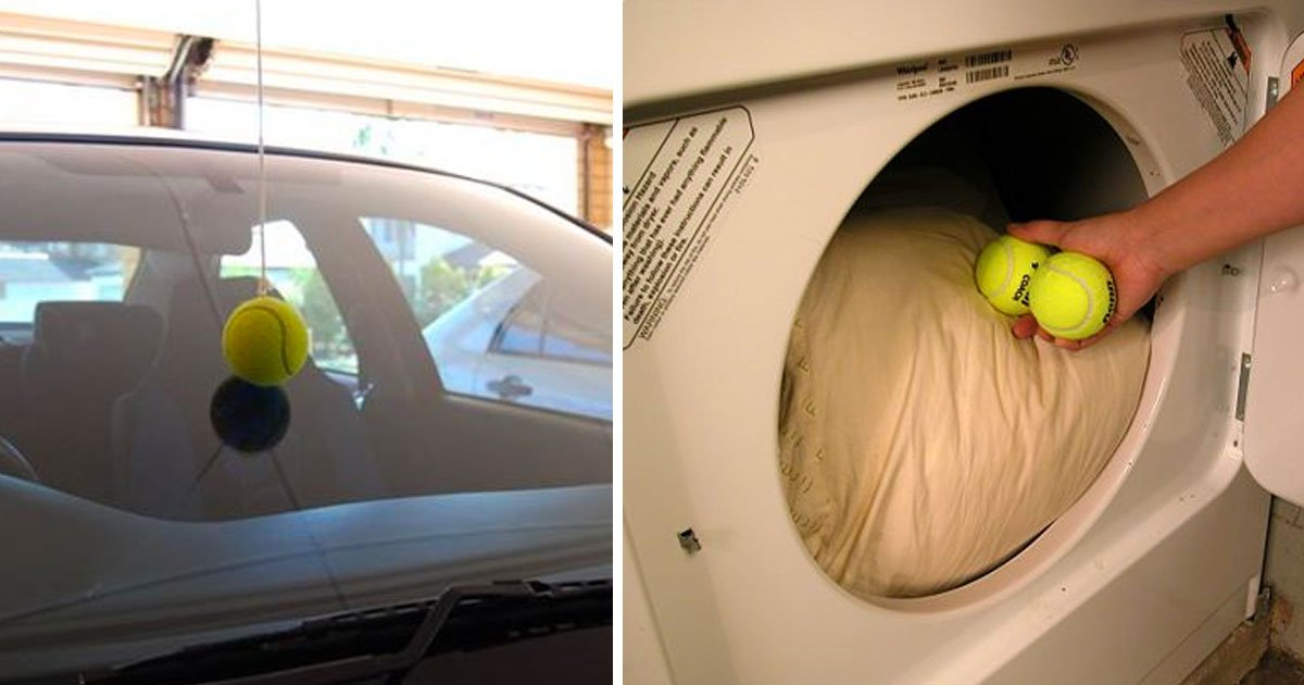 old tennis ball use.jpg?resize=412,275 - 15+ Creative Ways To Recycle Old Tennis Balls To Use Around The House