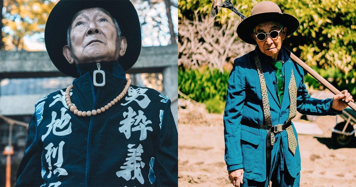 oldman ttl.jpg?resize=1200,630 - 84歳のお爺ちゃん、孫のハイセンスな服を着こなす姿が似合いすぎてヤバい!!