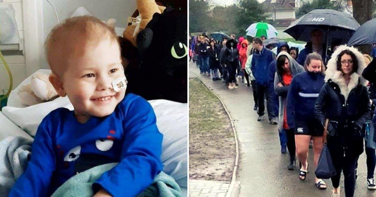oscar4.png?resize=300,169 - Un garçon de 5 ans ayant reçu un diagnostic de cancer en phase terminale a incité des milliers de personnes à devenir des donneurs de cellules souches