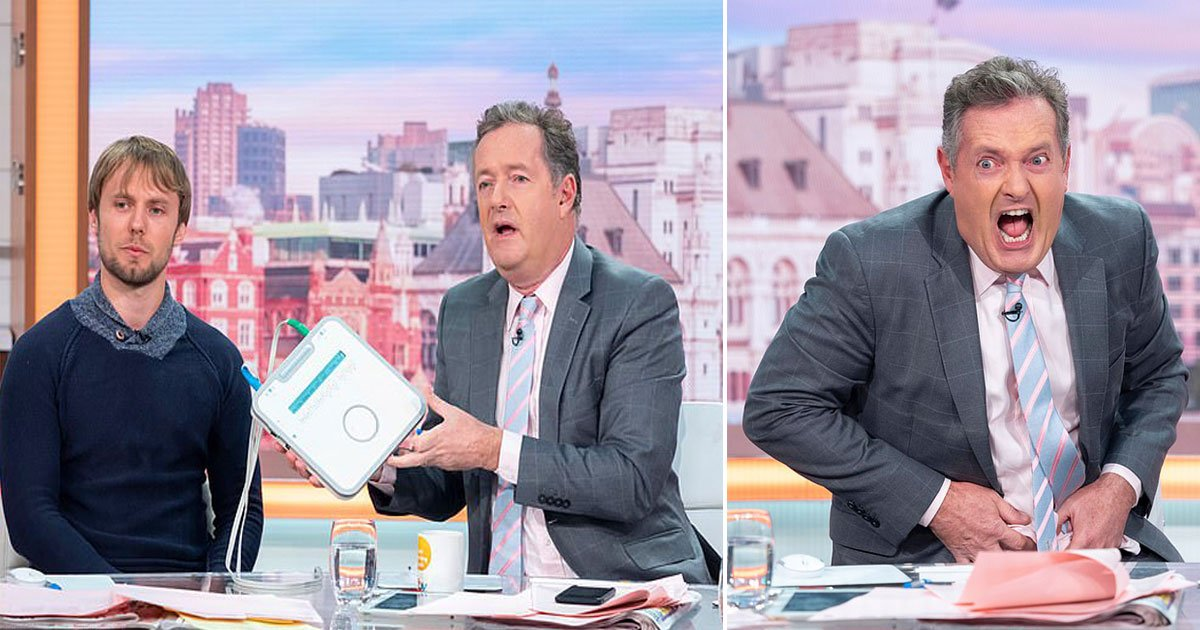 piers morgan labour pain.jpg?resize=412,232 - Piers Morgan Experienced Labour Pain Through A Simulator On Good Morning Britain