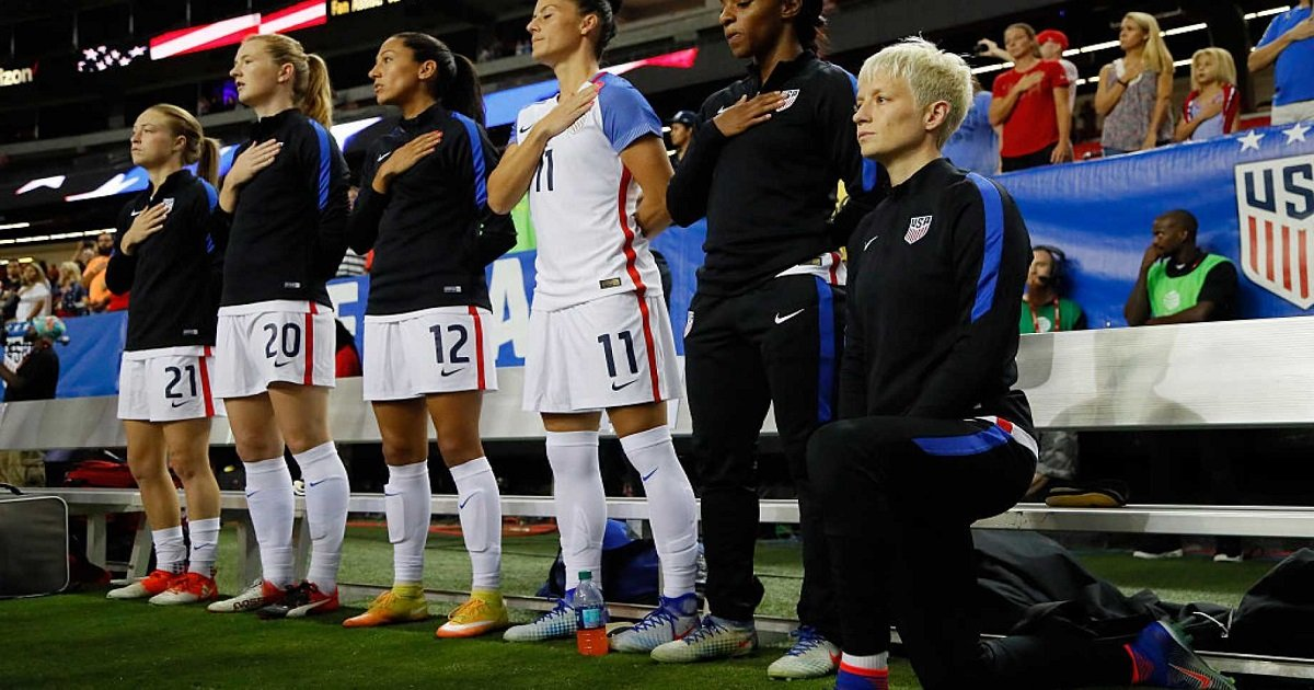 "r3 1.jpg?resize=1200,630 - ""I'll Probably Never Sing The National Anthem Again"" Claimed The Co-Captain Of The US Women's Soccer Team"