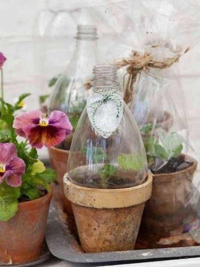 17Ideas para reciclar los envases deplástico