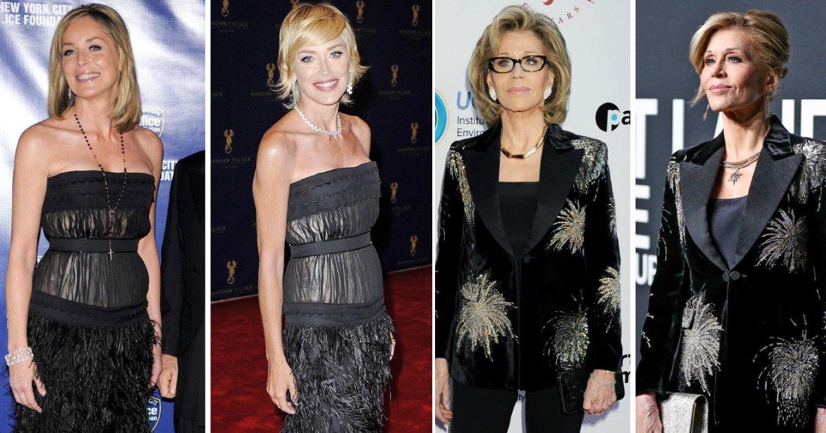 same clothes.png?resize=412,232 - 9 célébrités qui ne craignent pas d'être vues portant les mêmes vêtements en public