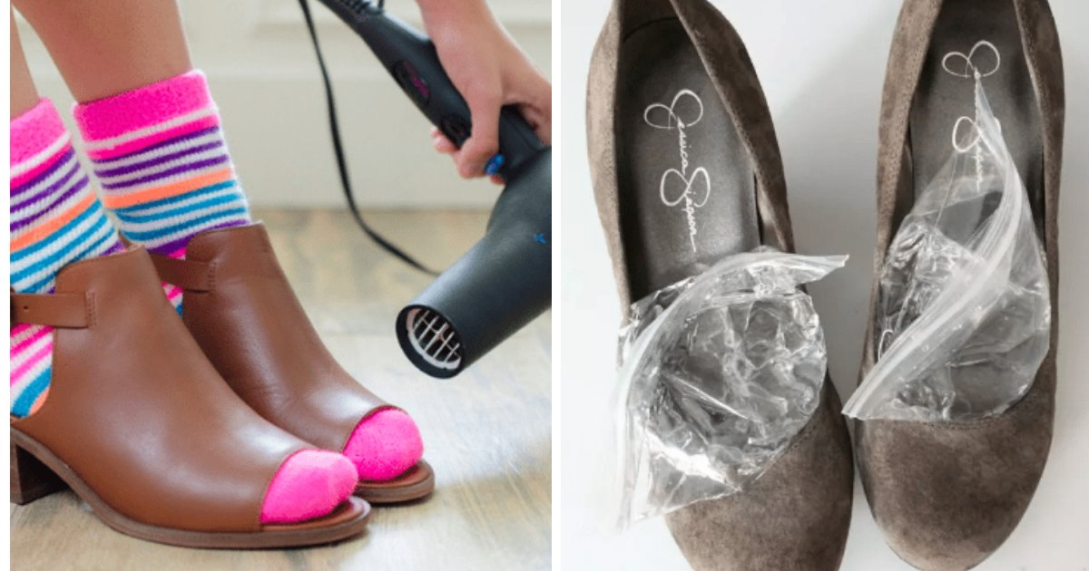 shoe hacks help.png?resize=1200,630 - 50 Simple Shoe Hacks That Will Save You Money, Time And Pain
