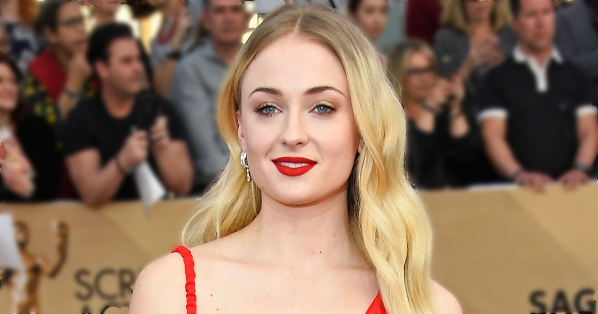 sophie turned weed vape video.jpg?resize=412,232 - Sophie Turner Laughed Out Loud After Realizing Her 'Weed Vape' Was On Her Lap On Instagram Live