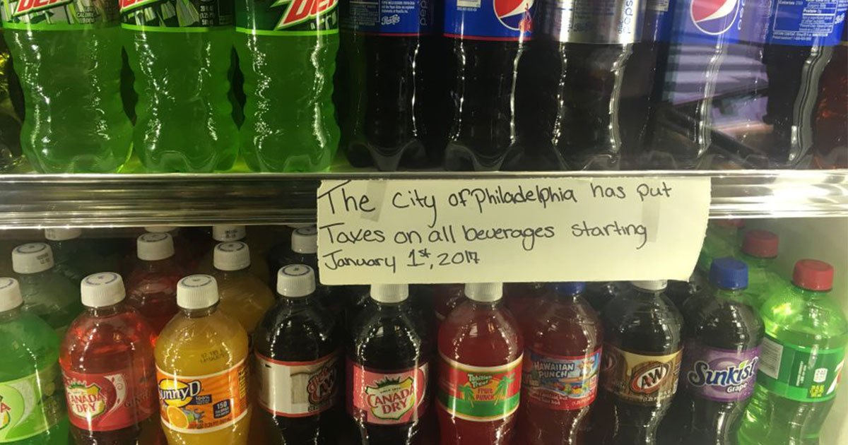 the plan of philadelphias soda tax backfired and didnt go as per their plan.jpg?resize=412,232 - Philadelphia's Soda Tax Backfired On Businesses