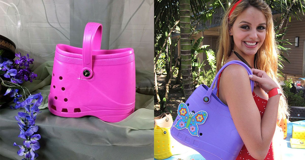 "the reaction is mixed as some people are happy with the design and some are not.jpg?resize=412,232 - The New ""Trendy"" Fashion Item: Croc-Inspired Handbags"