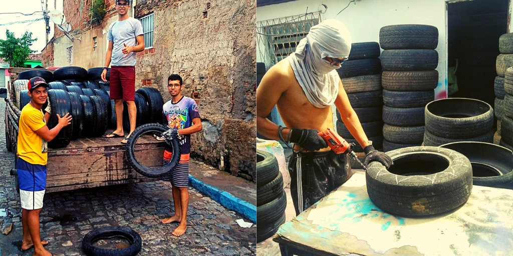 tires 3 e1557244873400.png?resize=1200,630 - Artist Turns Used Tires Into Cozy Beds For Stray Animals At Brazil