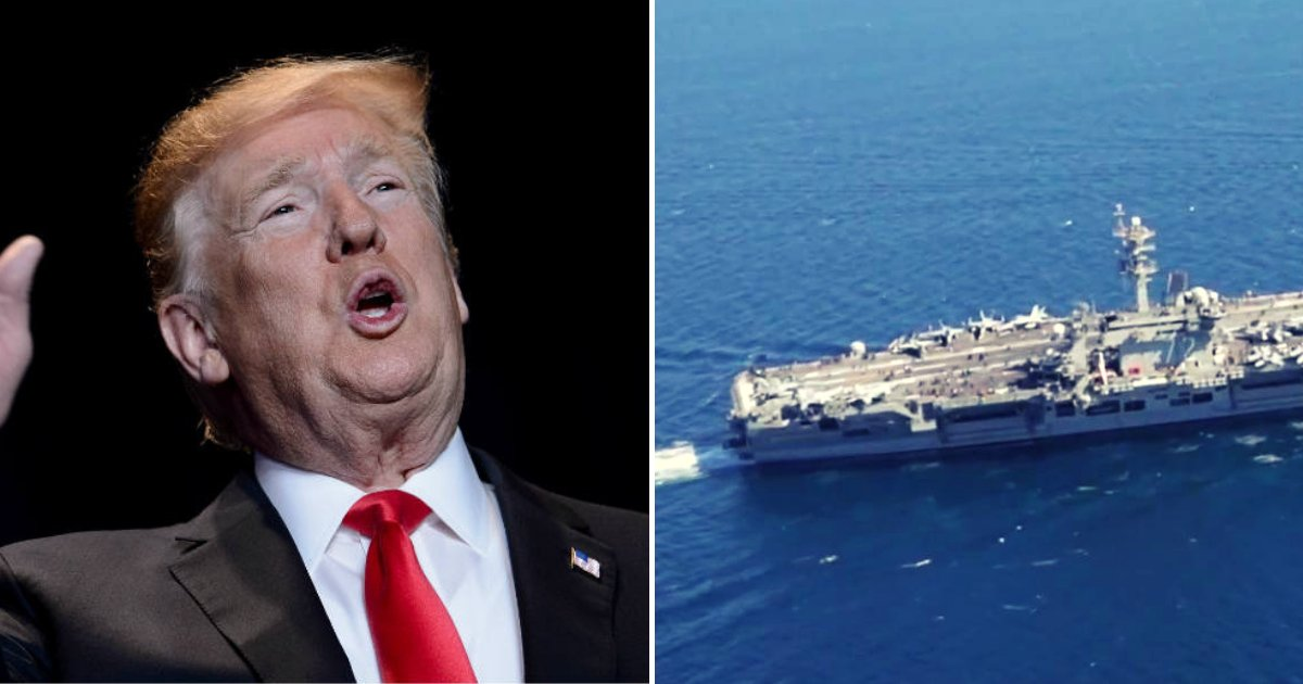 trump.png?resize=1200,630 - Trump Sends 'Clear And Unmistakable' Message To Iran In Response To A Number of Warnings