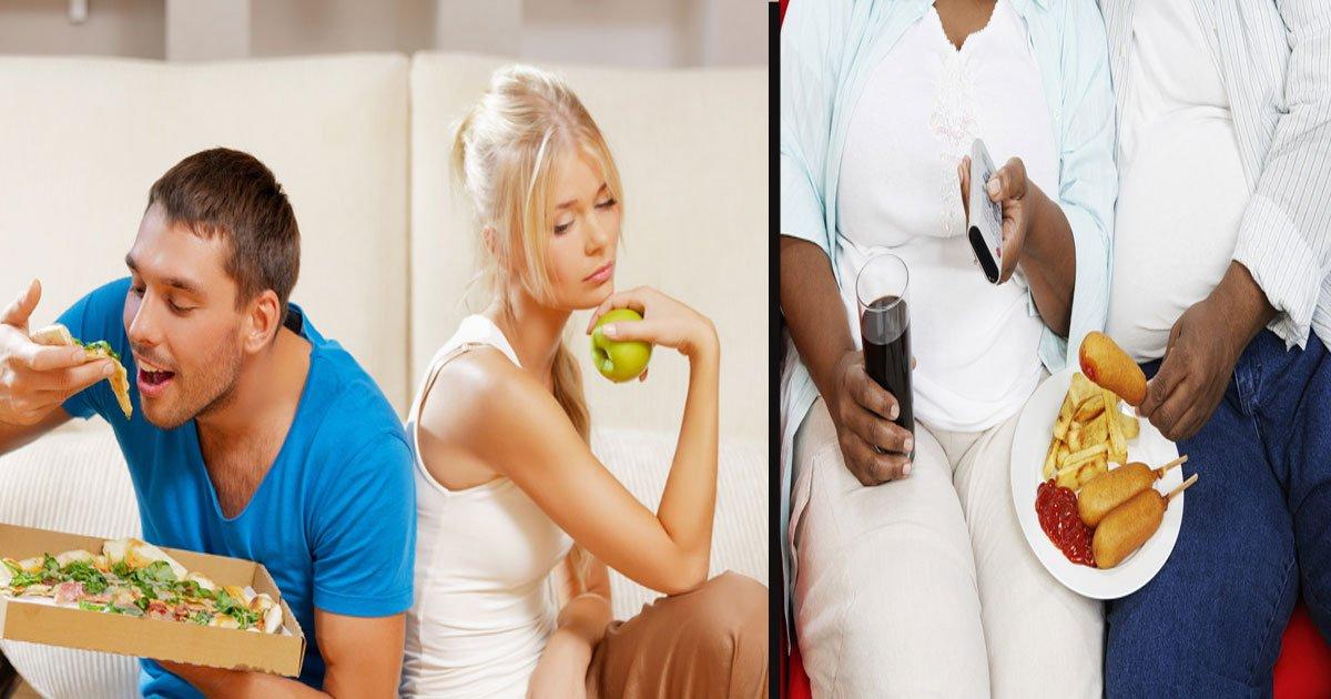 untitled 1 3.jpg?resize=1200,630 - La science dit que les couples qui s'aiment vraiment ont tendance à prendre du poids