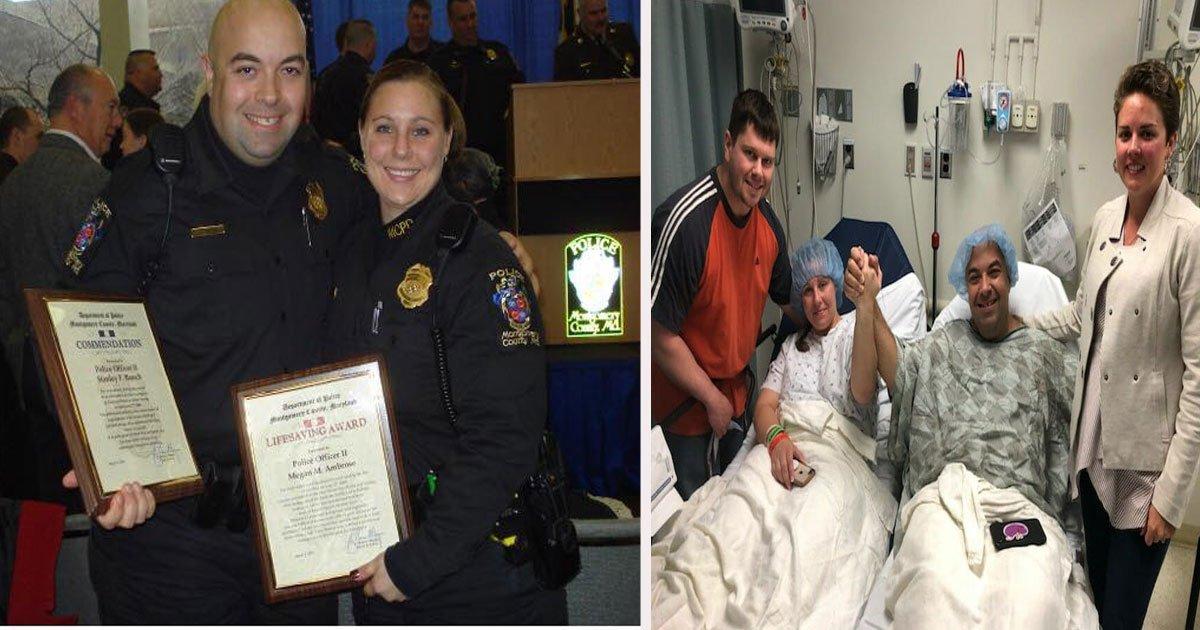 untitled 1 57.jpg?resize=1200,630 - Retired Cop Burst Into Tears When Former Partner Gave Him A Heartwarming Card Offering Her Kidney