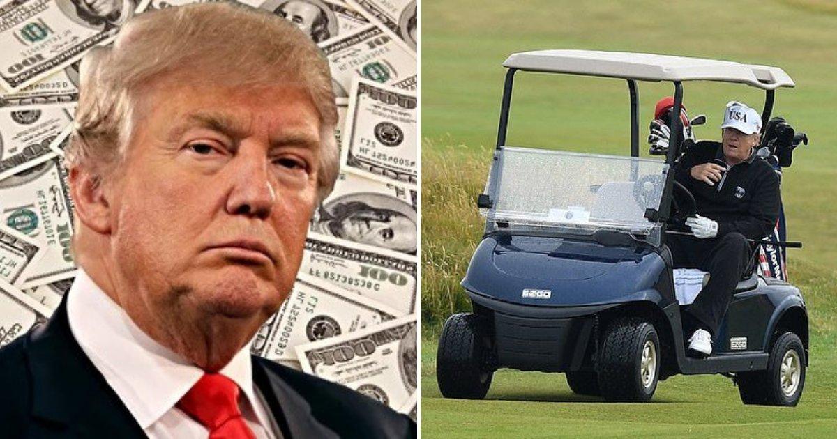 untitled design 12 1.png?resize=1200,630 - La facture de golf de Donald Trump a dépassé les 100 millions d'euros de l'argent des contribuables