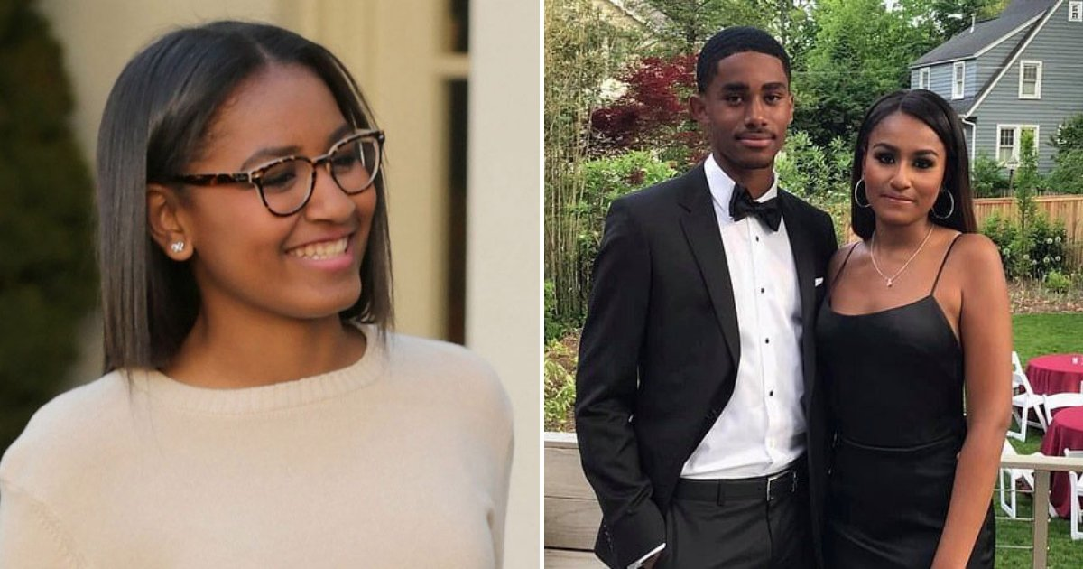 Former First Daughter Sasha Obama Looked Stunning On Her ...
