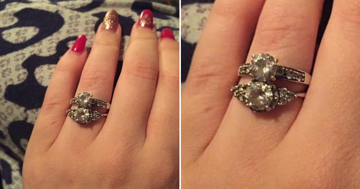 untitled design 32.png?resize=412,232 - Bride-To-Be Shamed For Wearing Two Engagement Rings At The Same Time