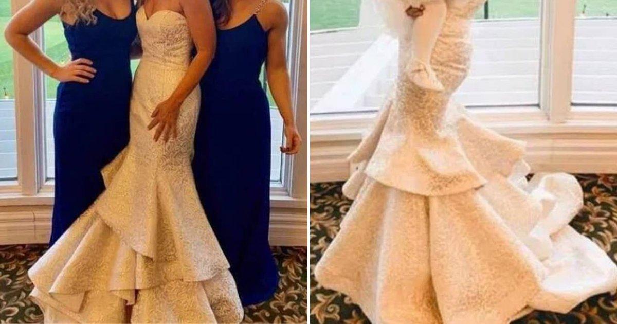 """untitled design 36.png?resize=412,232 - Une mère a été critiquée pour avoir porté une robe blanche """"de mariée"""" au mariage de son fils"""