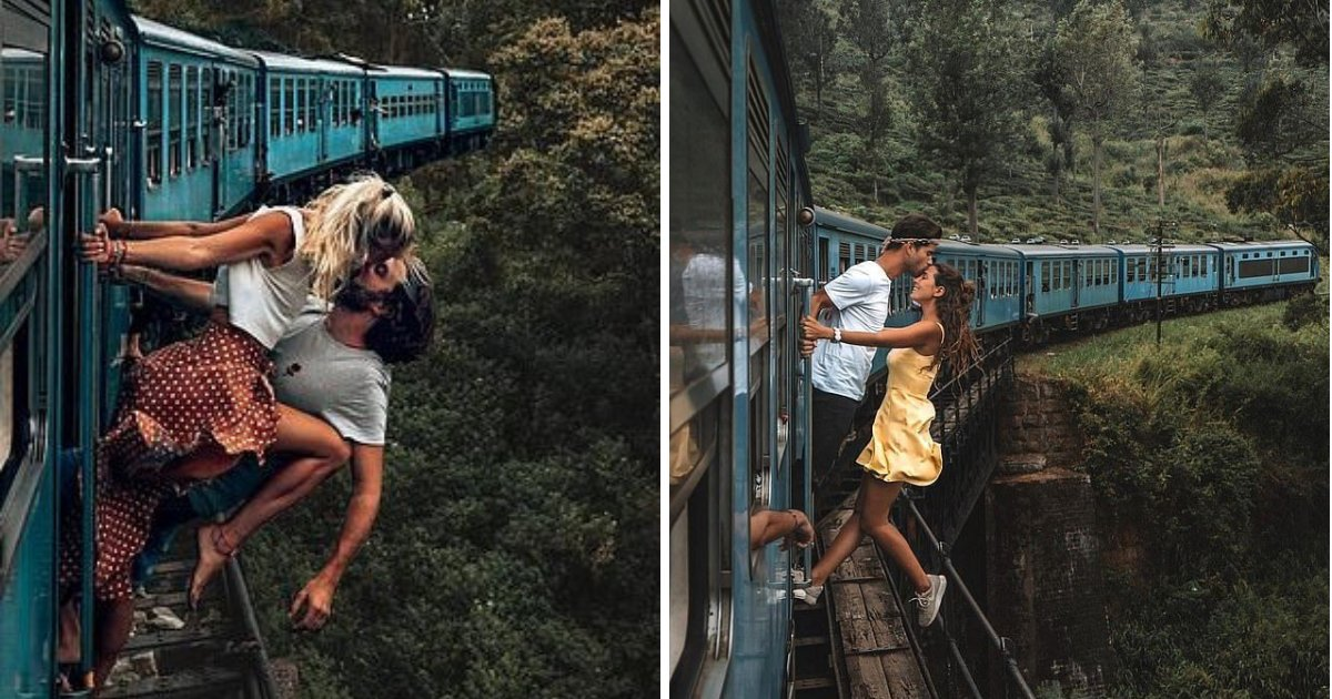untitled design 38.png?resize=1200,630 - Traveling Couples Shamed For Taking Pictures While Hanging Out Of Moving Trains