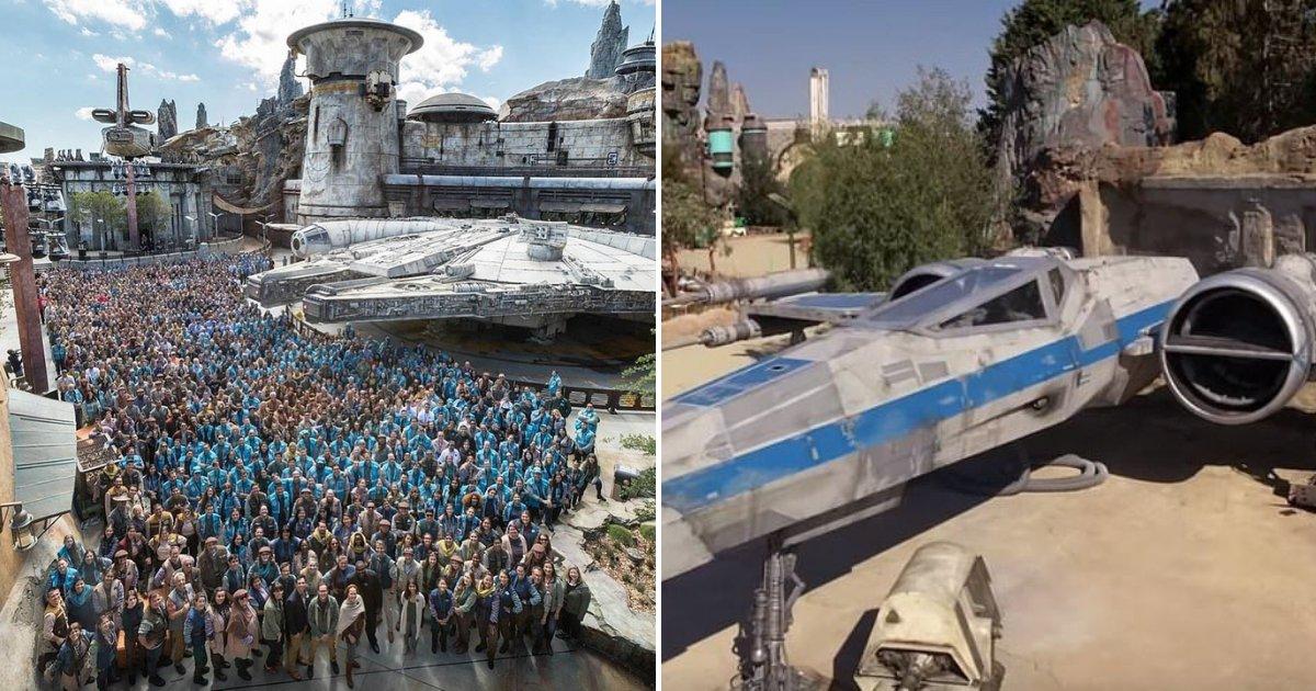 untitled design 44 1.png?resize=574,582 - Le parc Star Wars Galaxy's Edge est enfin ouvert et photographié pour la première fois