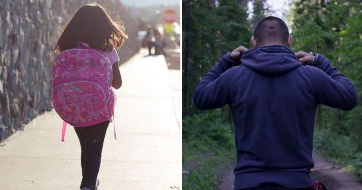 untitled design 52 1.png?resize=300,169 - Une jeune fille courageuse de 9 ans a échappé à un kidnappeur d'enfants qui l'a suivi depuis l'école jusqu'à chez elle