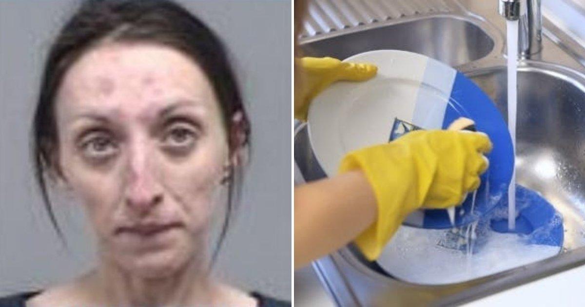 untitled design 52.png?resize=300,169 - Une femme est arrêtée pour avoir fait irruption dans une maison familiale et fait la vaisselle