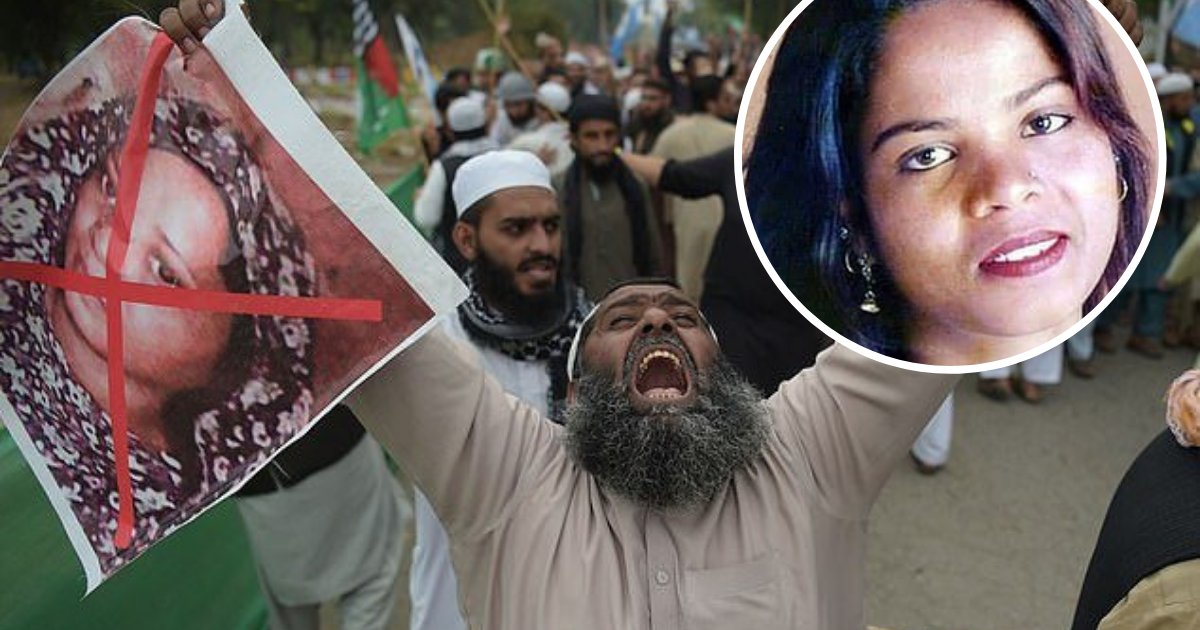 untitled design 73.png?resize=1200,630 - Islamist Threatened To Murder Christian Escapee Asia Bibi Following Her Arrival In Canada
