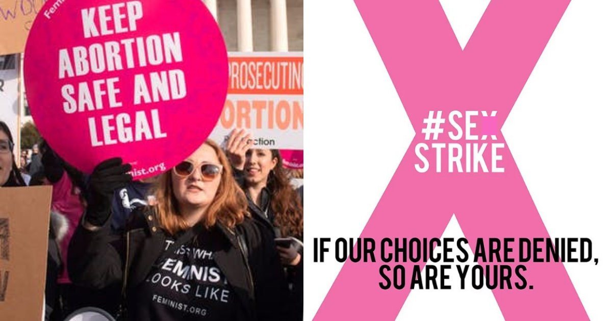 untitled design 80.png?resize=1200,630 - Women Are Going On A 'S*x Strike' To Protest Against New Abortion Laws