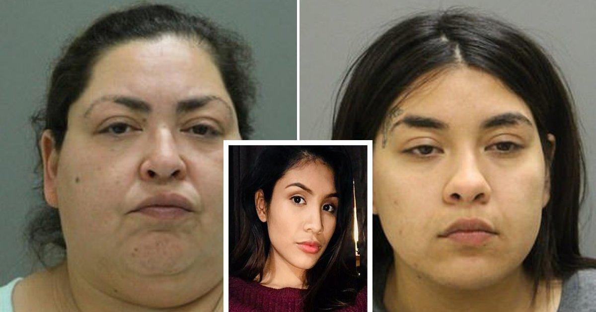 untitled design 84.png?resize=412,232 - Mère et fille accusées d'avoir tué une adolescente enceinte et volé son bébé dans son ventre