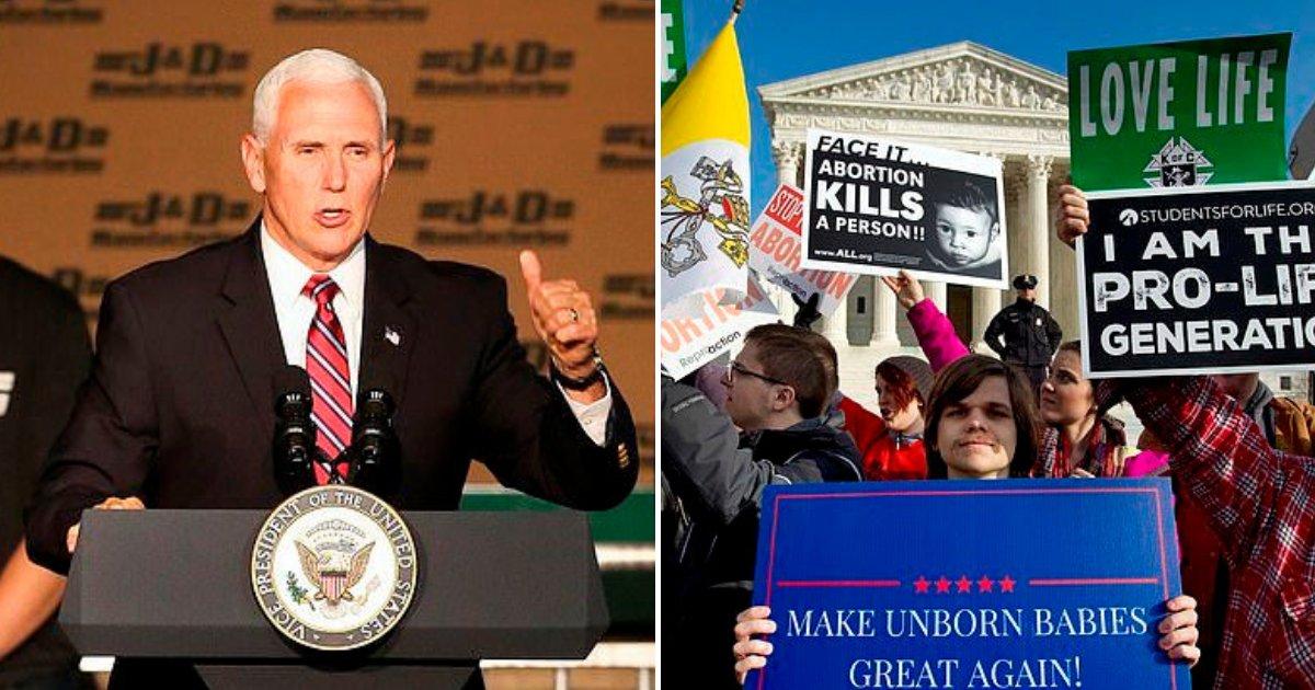 untitled design 90.png?resize=412,232 - Mike Pence a salué les nouvelles lois sur l'avortement et déclaré être fier de son administration anti-avortement